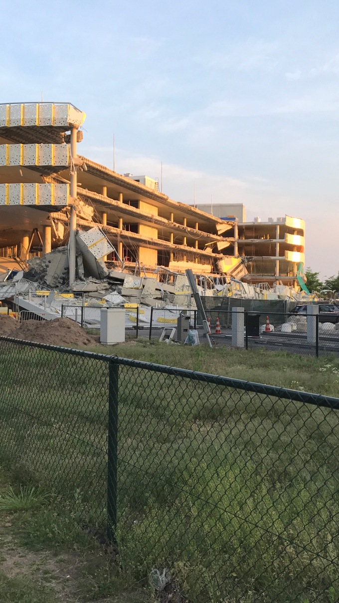 Eindhoven Airport Building Collapse